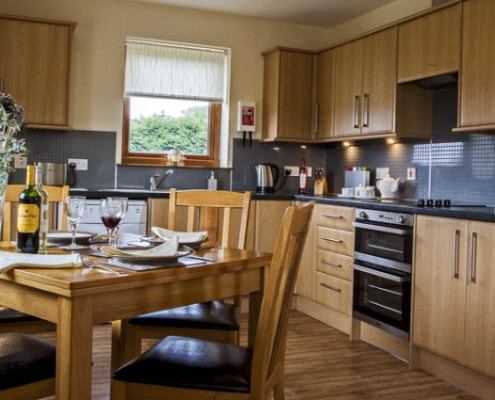 Cottage comprehensive kitchen facilities for self catering