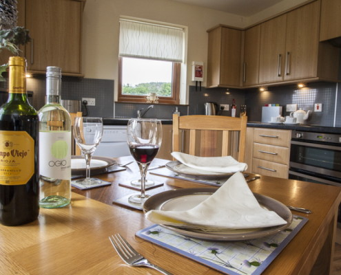 Cottage Dining in your Lairg Holiday Cottage