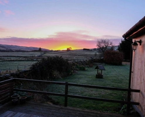 Holiday Cottage at Dawn